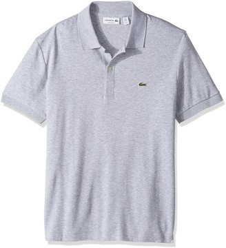 Lacoste Men's Short Sleeve Pima Jersey Interlock Regular Fit Polo