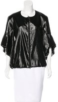 Rue Du Mail Metallic Silk Jacket