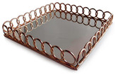 Jay Import Looped Copper Square Tray