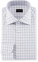 Ermenegildo Zegna Bold Grid Check Dress Shirt
