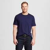 Merona Men's Big & Tall Crew Neck Pocket T-Shirt