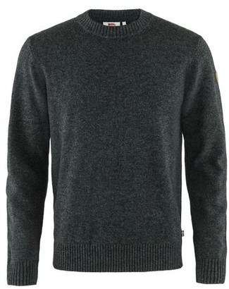 Fjallraven Ovid Round Neck Sweater Dark Grey - XXL