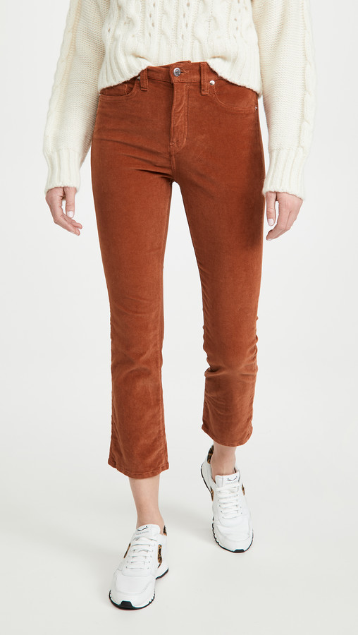 Thumbnail for your product : Veronica Beard Jeans Carly Kick Flare Corduroy Pants