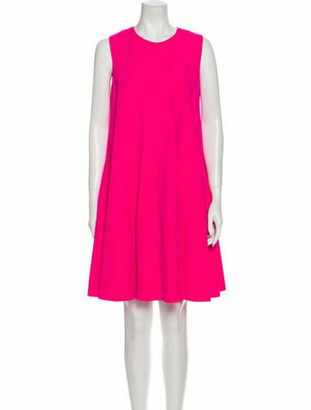 Oscar de la Renta 2020 Knee-Length Dress w/ Tags Wool