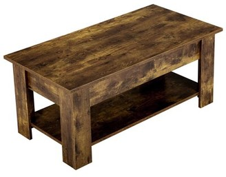 Union Rustic Fincher Lift Top Coffee Table