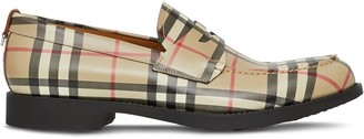 Burberry Emile Vintage check loafers