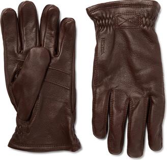 Hestra Sarna Leather Gloves - Men - Brown