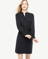 Ann Taylor Home Dresses Embroidered Cotton Shirt Dress Embroidered Cotton Shirt Dress