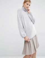 Paisie Turtleneck Jumper With Bell Sleeves