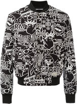 Kenzo Storm Flyer bomber jacket - men - Cotton/Polyamide/Polyester/Viscose - XL