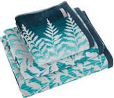 Clarissa Hulse Filix Towel - Kingfisher - Hand Towel