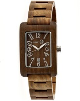 Earth Wood Trunk Bracelet Watch.