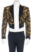 Jean Paul Gaultier Beaded Cropped Blazer