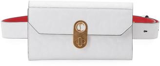 Christian Louboutin Elisa Leopard Leather Belt Bag/Wallet on Chain