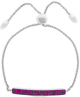 Effy Fine Jewelry Silver 1.11 Ct. Tw. Ruby Bracelet