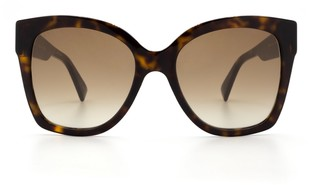 Gucci Gg0459s Havana Sunglasses