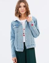 Nancy Trim Denim Jacket