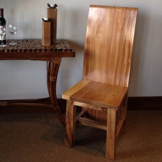 Chic Teak Amazon Solid Wood Dining Chair