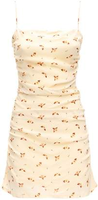 WeWoreWhat Ronnie Printed Viscose Mini Dress
