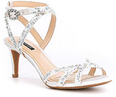 Alex Marie Kandis Satin Dress Sandals