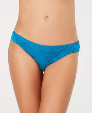 Macy's Hula Honey Juniors' Diamond-Crochet Hipster Bottoms, Created for Women's Swimsuit