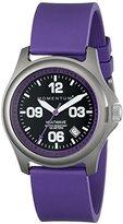 "Momentum Women's 1M-SP17P1P ""Heatwave"" Titanium Watch with Purple Band"