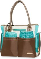 Fisher-Price 5-Piece Tote in Grey/Teal/Ivory