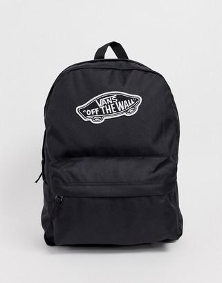 Vans Realm backpack in black