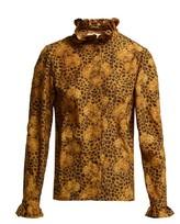 Borgo de Nor Veronica Leopard-print Blouse - Womens - Leopard