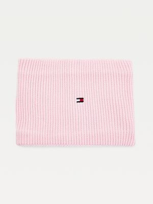 Tommy Hilfiger Kids' Organic Cotton Flag Embroidery Snood