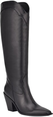 Sigerson Morrison Ferry Square Toe Tall Boot