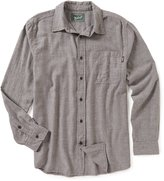 Woolrich Stone Rapids Eco Rich Solid Long-Sleeve Shirt