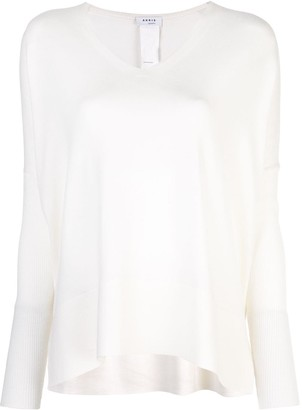Akris Punto v-neck knitted top