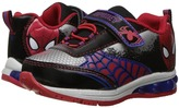 Favorite Characters Spiderman Lighted Athletic SPS326 Boy's Shoes