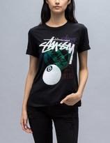 Stussy Stamped Cuffed Crew T-Shirt