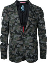 GUILD PRIME camouflage blazer - men - Cotton/Nylon - 1