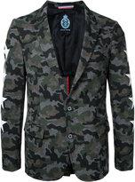 GUILD PRIME camouflage blazer