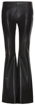 Acne Studios Luisa flared leather trousers