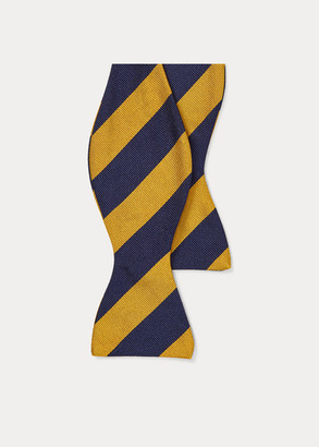 Ralph Lauren Striped Silk Repp Bow Tie