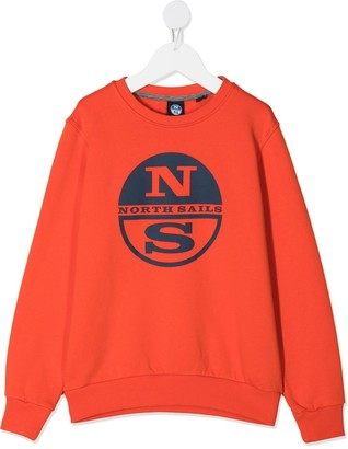 North Sails Kids Logo Print Sweatshirt