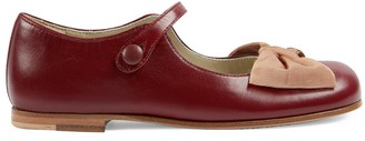 Gucci Children's ballet flat with bow