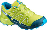 Salomon Lime Punch & Pond Speedcross Trail Running Shoe - Kids