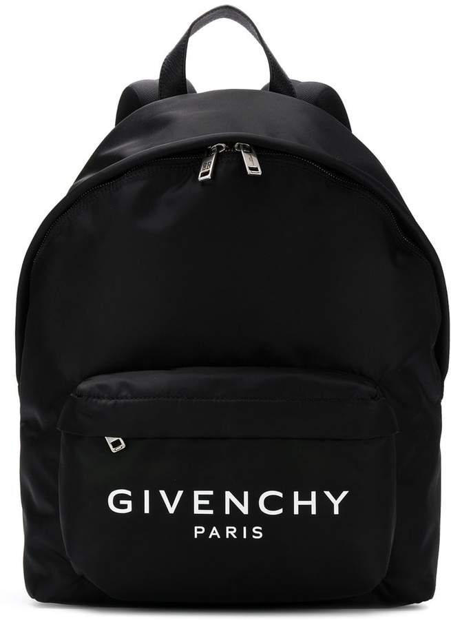 Givenchy logo print backpack
