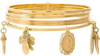 Dolce & Gabbana Pendant Cuff Bracelet