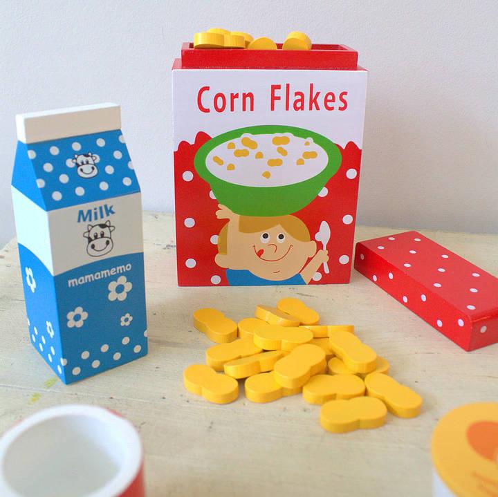 Little Ella James Wooden Breakfast Play Set