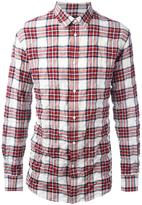 DSQUARED2 casual tartan shirt - men - Cotton/Spandex/Elastane - 46