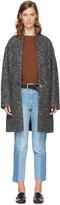 Etoile Isabel Marant Black Oversized Osbert Coat