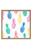 Deny Designs Dash & Ash - Pineapple Paradise Decorative Tray