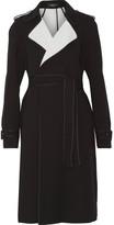 Theory Laurelwood Crepe Trench Coat - Black