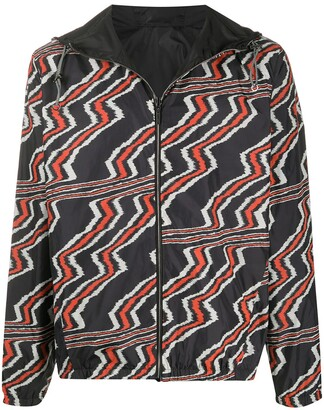 Missoni Abstract Print Windbreaker Jacket